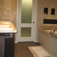 Contemporary Bathroom by New Creation Group Remodeling