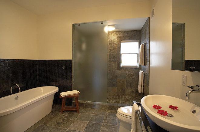 Contemporary Bathroom by Patrick J. Baglino, Jr. Interior Design