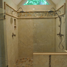 Traditional Bathroom by The HomeWright, LLC