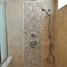 Transitional Bathroom by The HomeWright, LLC