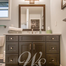 Traditional Bathroom by William Standen Co.
