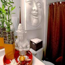 Asian Bathroom by Terrance Mason Interiors