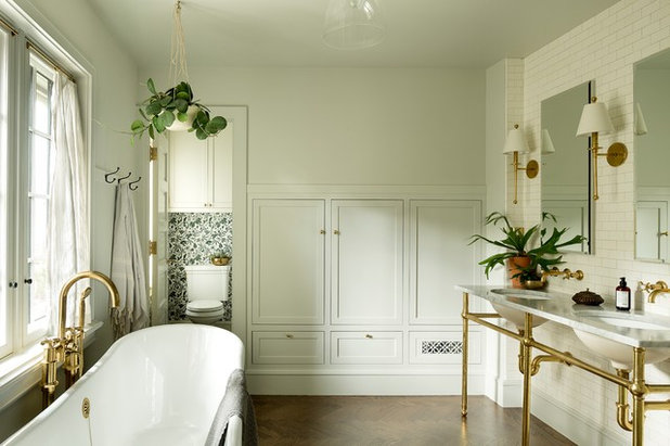 Transitional Bathroom by The Works