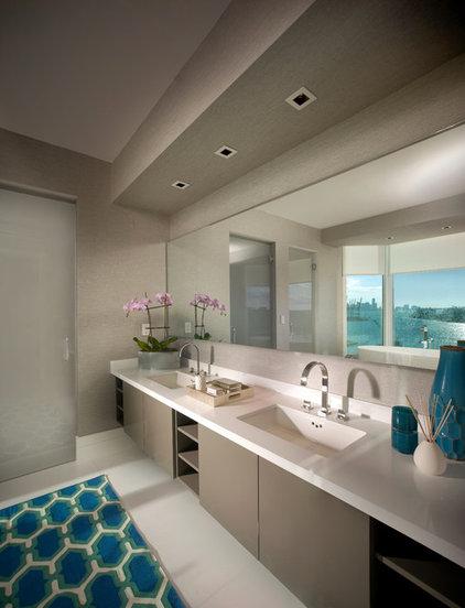 Modern Bathroom by CH Construction Group