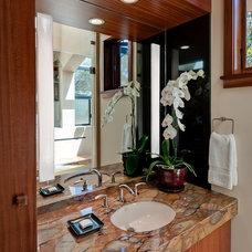 Contemporary Bathroom by RKI Interior Design