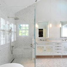 Contemporary Bathroom by Kym Maloney Design