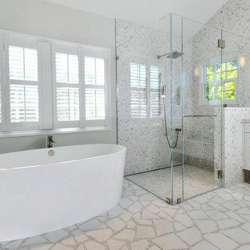 Portola Valley Master Bathroom
