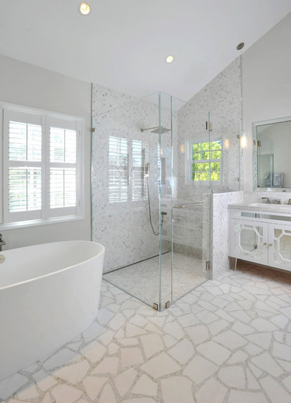 Contemporary Bathroom by Kym Maloney Design