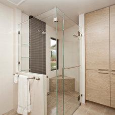 Modern Bathroom by Craig L Bauman Construction