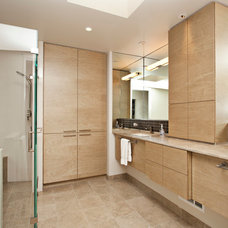 Modern Bathroom by Craig L Bauman Construction