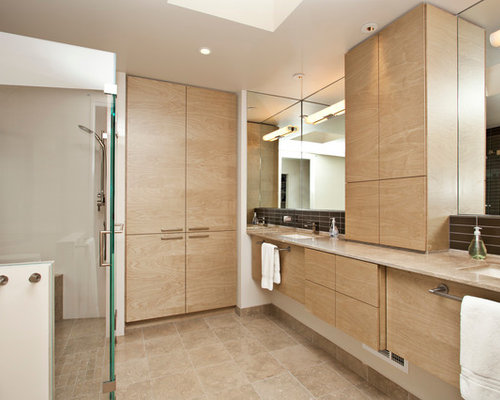 floor to ceiling cabinets bathroom design ideas