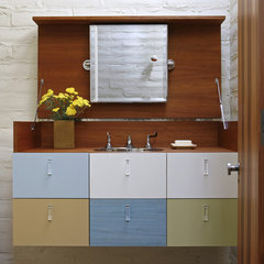 contemporary bathroom by Charles DeLisle