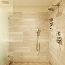Transitional Bathroom Portola Valley Residence