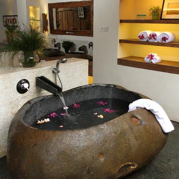 Potato Shaped Bath Tub