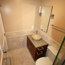 Modern Bathroom by Leveille Home Improvement Consultants, Inc.