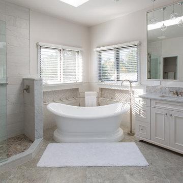 Potomac Maryland Bathroom Design Remodel