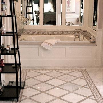 Potomac, MD Classic Luxury Master Bathroom