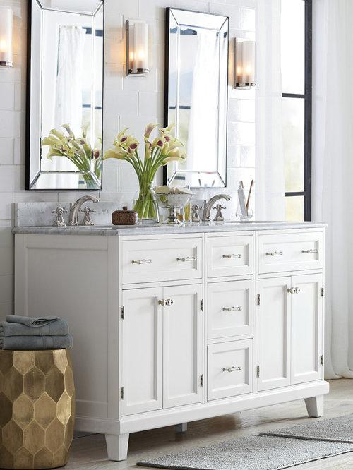 Pottery barn bath design ideas pictures remodel decor for Bathroom decor pottery barn