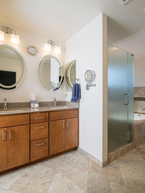 bad mit granit waschtisch ideen bilder houzz. Black Bedroom Furniture Sets. Home Design Ideas