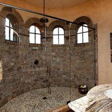 Mediterranean Bathroom by Steve Murcko & Associates, Inc.