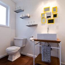Contemporary Bathroom by Adapt Design, LLC