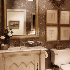 Eclectic Bathroom by Elizabeth Anne Star Interiors