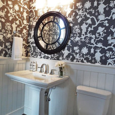 Traditional Bathroom by Judith Balis Interiors