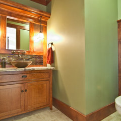 traditional bathroom by Natalie DiSalvo