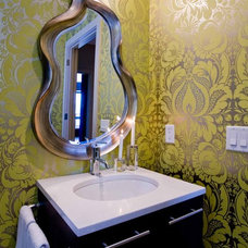 contemporary bathroom by Angela Todd Designs