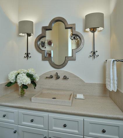 Mediterranean Bathroom by Carla Aston | Interior Designer