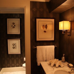 traditional bathroom by Schranghamer Design Group