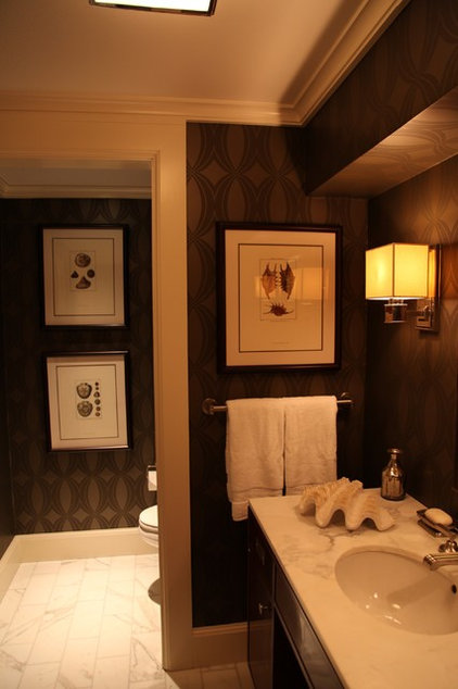 Traditional Bathroom by Schranghamer Design Group, LLC