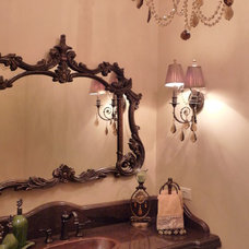Traditional Bathroom by VM Concept Interior Design Studio