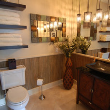 Contemporary Bathroom by Troy Spurlin Interiors
