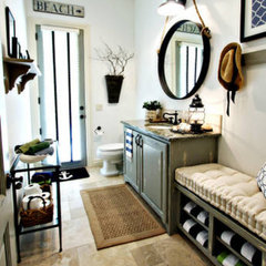 eclectic bathroom by Van Wicklen Design