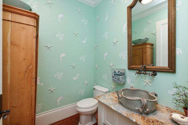 Tropical Bathroom by Weber Design Group, Inc.