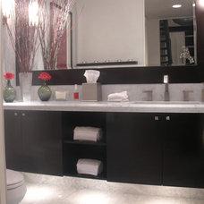 Modern Bathroom by Christopher James Interiors