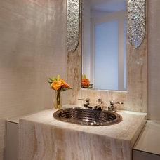 Contemporary Bathroom by Cindy Ray Interiors, Inc.