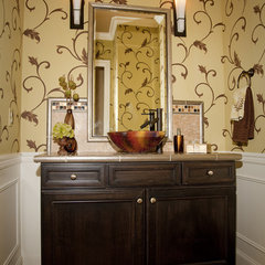 contemporary bathroom by Beverly Bradshaw Interiors