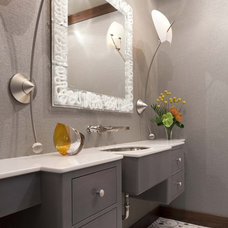 contemporary bathroom by Billy Beson Company