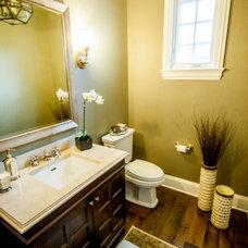 Traditional Bathroom by Savvy Interior Design