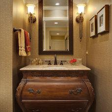 Traditional Bathroom by Drury Design
