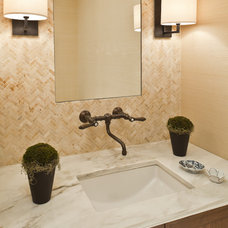 Traditional Bathroom by Elizabeth Cb Marsh