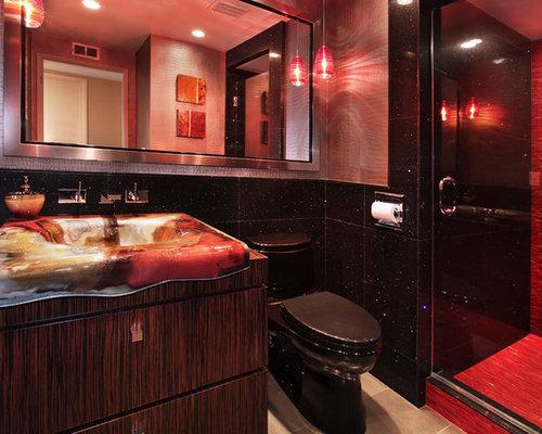 Bathroom Designs Red And Black Healthydetroiter Com