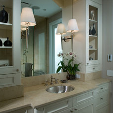 Traditional Bathroom by Fredman Design Group