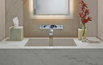 Green and Clean: Sleek Water-Wise Bathroom Fixtures