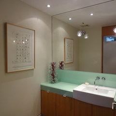 modern bathroom by GoodHome Painting Co.