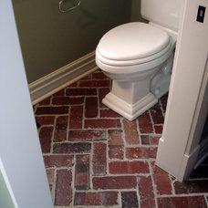 Eclectic Bathroom by Hiday Custom Builders, LLC