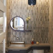 Modern Bathroom powder room