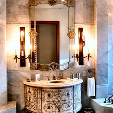 Mediterranean Bathroom by Integral Design